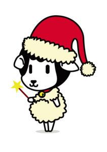 2013年12月ベリメリちゃんサンタ