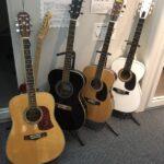【名古屋校】新しいギターと新しい受付