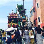 【新宿校】熊谷うちわ祭り♪