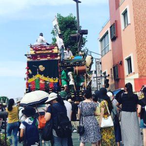 【代々木校】熊谷うちわ祭り