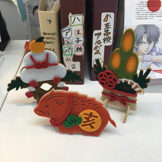【八王子校】謹賀新年はワックスがけから!