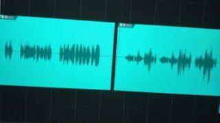 声の模様を作るために