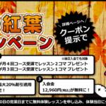 【11月限定】新規入会キャンペーン!!※クーポンあり