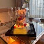 【横浜校】クマのケーキ